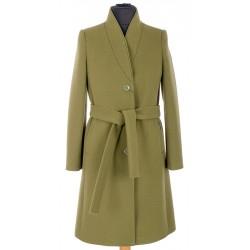 płaszcz zimowy Dziekański Anka khaki rozmiar 38 40 42 44 46 48