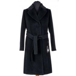 płaszcz zimowy Dziekański Luiza czarny rozmiar 38 40 42 44 46 48