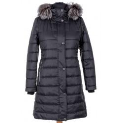 płaszcz damski Dziekański Ramona czarny rozmiar 38 40 42 44 46