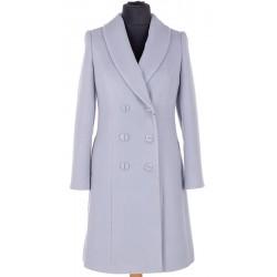 płaszcz zimowy Dziekański Walentyna popiel rozmiar 38 40 44 46 48