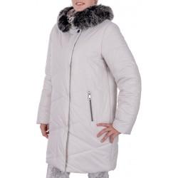 kurtka zimowa Biba Stella biała rozmiar 40 42 44 46 48