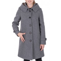 płaszcz zimowy Dziekański Alessja szary rozmiar 36 38 40 42 44 46