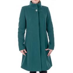 płaszcz zimowy Dziekański Dakota zielony rozmiar 36 38 40 42 44