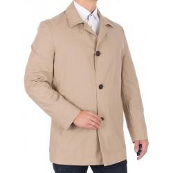 Nieocieplony płaszcz Tris Line K19-2 kołnierz roz 50 52 54 56 58 60 62