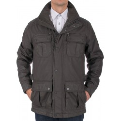 Brązowa kurtka zimowa Kings Canson 21C*604-158 05 rozmiar 48 50 52