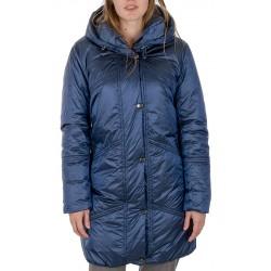 płaszcz zimowy Modena Styl Adele granatowy rozmiar 42 44 46 48 50 52
