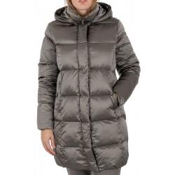 płaszcz puchowy Modena Styl Megan oliwkowy rozmiar 38 40 42 44 46 48