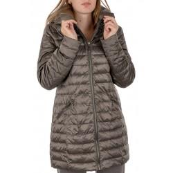 płaszcz Modena Styl Żaklina ciemna oliwka rozmiar 38 40 42 44 46 48