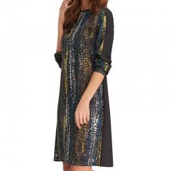 sukienka Feria FE214-5-10 multikolor rozmiar 38 40 42 44 46