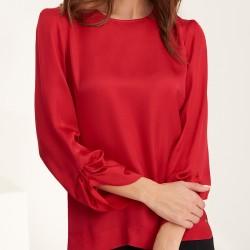 bluzka damska Feria FE25-4-07 czerwona rozmiar 38 40 42 44 46 48