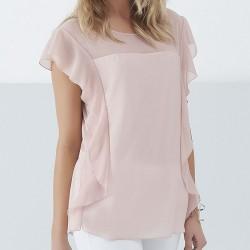 bluzka damska Sunwear Q49-3-17 róż rozmiar 38