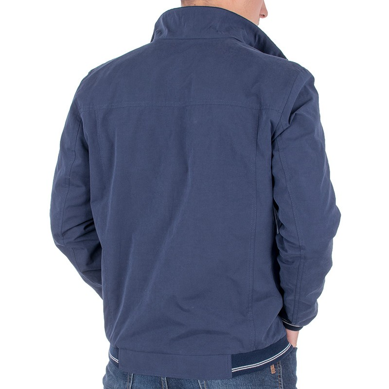 Niebieska kurtka Racmen 2821 Karol