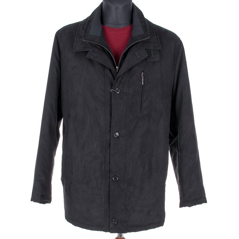 Czarna kurtka zimowa Racmen model 902