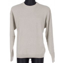 Sweter u-neck Kings 18S 62407 kol. 905 kremowy roz. M L XL 2XL 3XL