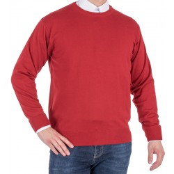 Sweter u-neck Kings 100*S-401 4007 kolor burgund 200 r. M L XL 2XL 3XL