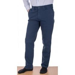 Granatowe chinos Lord R-119 spodnie bawełniane rozmiar 82-112 cm