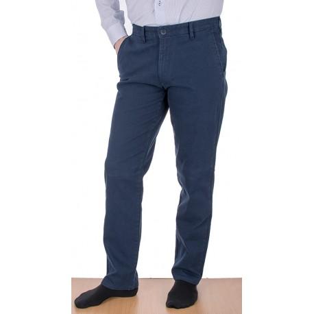 Granatowe spodnie Lord R-119 - chinosy