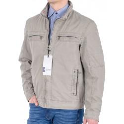Beżowa kurtka wiosenna Issho M2060 bawełna kolor 1 r. 48 50 52 54 56