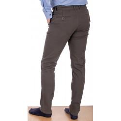 Jasnobrązowe spodnie chinos Lord R-163 bawełniane rozmiar 82-112 cm