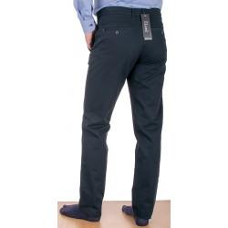 Czarne spodnie chinos Lord R-147 bawełniane rozmiar 82-112 cm
