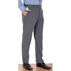 Jasnoszare spodnie Racmen 2562R wełniane w kant roz. 84 -120 cm
