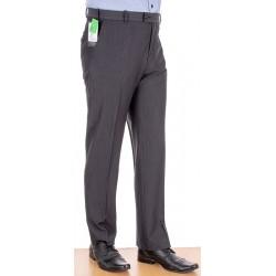 Spodnie garniturowe grafitowe Racmen 2562R sól pieprz roz. 84-120 cm