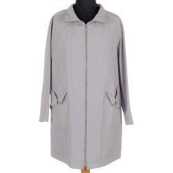płaszcz letni Modena Styl 1119 Joko popielaty rozmiar 46 52