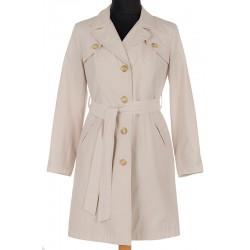 płaszcz wiosenny Modena Styl Gabi ecru rozmiar 40 42 44 46