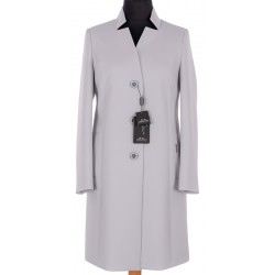 płaszcz Dziekański Karen popielaty 215 rozmiar 38 40 42 44 46 48