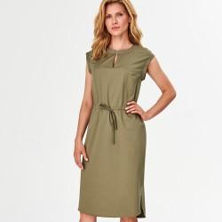 sukienka Feria FF211-2-36 khaki rozmiar 38 40 42 44 46
