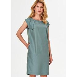 sukienka damska Feria FF206-2-13 morski zielony rozmiar 40 44 46
