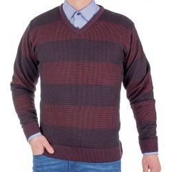Sweter Kings 10T*231506 malaga 470 w szpic ze wzorem r. M L XL 2XL 3XL