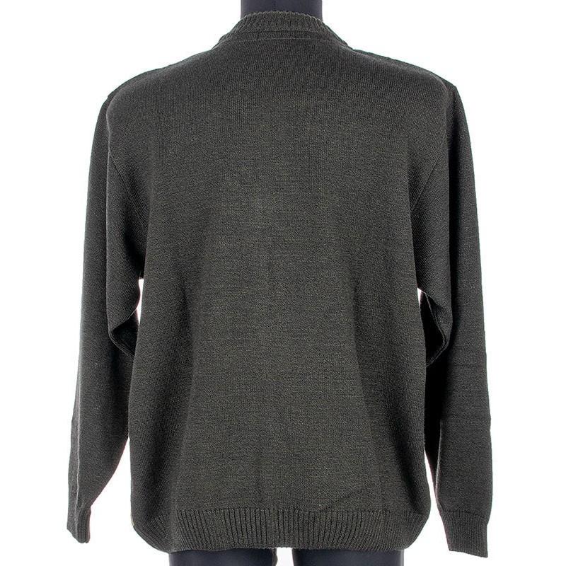 Sweter rozpinany Kings 18X*6900727 zielony ze wzorem