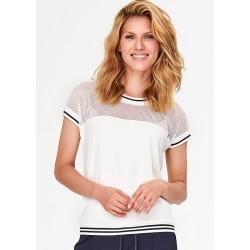 bluzka damska firmy Feria FF59-2-08 ekri rozmiar 40 42 46