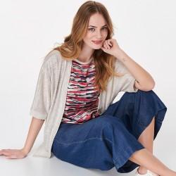 Sweter damski Sunwear BZ501-4-23 beżowy rozmiar 38 40 42 44 46 48