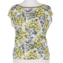 bluzka damska Sunwear B13-2-19 popiel żółty rozmiar 38 40 42 44 48