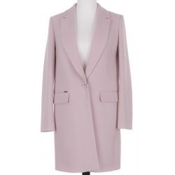 płaszcz wełniany Huna Aneta jasnoróżowy rozmiar 34 36 38 40 42