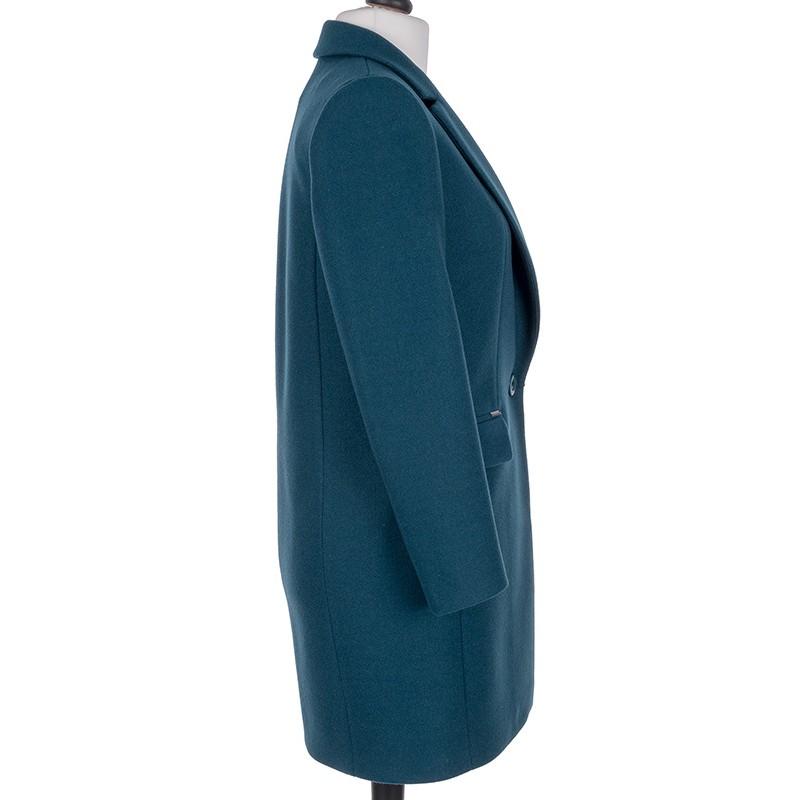 płaszcz wiosenny Huna Aneta morski rozmiar 36 38 40 42