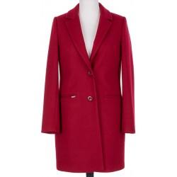 płaszcz wiosenny Huna Julita bordowy rozmiar 40 42 44 46 48 50 52