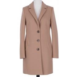 płaszcz wełniany Huna Kinga beżowy rozmiar 40 42 44 46 48 50 52