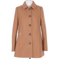 płaszcz wiosenny Huna Milena cappuccino rozmiar 44 46 48 50 52