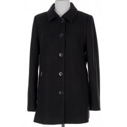 płaszcz damski Huna Milena czarny rozmiar 44 46 48 50 52