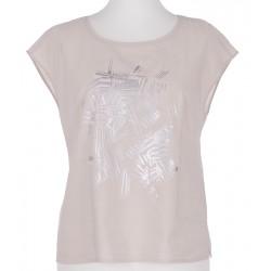 bluzka damska Feria FF70-2-23 jasnobeżowa rozmiar 38 40 42 44 46