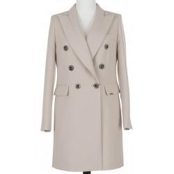 płaszcz damski Dziekański Aleksandra beżowy rozmiar 38 40 42 44 46