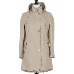 płaszcz bawełna Dziekański Irma kakaowy rozmiar 36 38 40 42 44 46