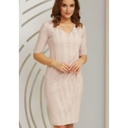 sukienka damska Kaskada Amaro różowa rozmiar 42 44 46 48 50