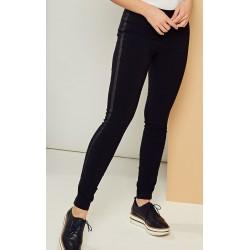 spodnie damskie Kaskada Brygida II czarne rozmiar 46 48