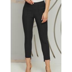 Eleganckie spodnie Kaskada Chanel czarne rozmiar 36 40 42 44 46