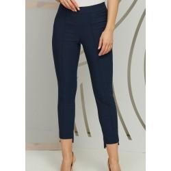 spodnie damskie Kaskada Chanel granatowy rozmiar 36 38 40 42 46 48