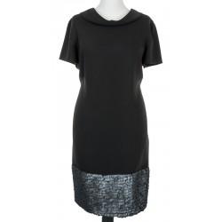 sukienka Sunwear ZS276-3-02 czarna rozmiar 44